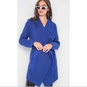 Jackets & Blazers - Blue Fleece Jacket
